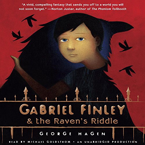 Gabriel Finley and the Raven's Riddle audiobook cover art