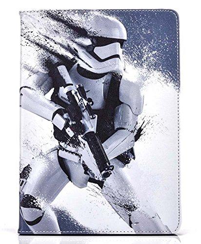 Apple Ipad Mini 1/2 / 3/4 / 5 Case Flip Smart Cover Star Wars StormTrooper Super Hero Pu Leather UK SELLER)
