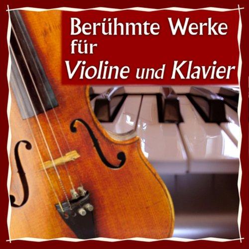 Berühmte Werke für Violine und Klavier
