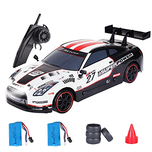 GT RC Drift Cars 1:14 Remote Control Car 35km/h Drift Vehicle 40min Playing time 4WD High Speed Sport Racing Car Gifts Toy for Adults Kids