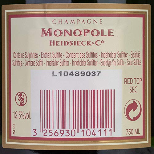 Heidsieck & Co. Monopole Red Champagner - 7