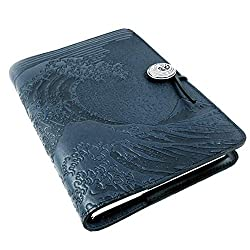 Hokusai Wave Genuine Leather Journal