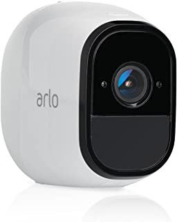 Arlo Pro by NETGEAR Add-on Security Camera – Add-on Rechargeable Wire-Free HD Camera with Audio, Indoor/Outdoor, Night Vision (VMC4030) [Existing Arlo System required] (Renewed)