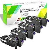 Cartuchos de tóner compatibles con 4 colores 6020 6022 6025 6027 6028...