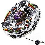 Elrozo Rapidity Saramanda Balro - Peonza con lanzador para Beyblade Zero G Metal Fusion 4d Fury Arena
