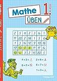 Mathe üben 1. Klasse: Zahlen und Mengen erkennen, Zahlenquadrate ausfüllen, Sachaufgaben lösen