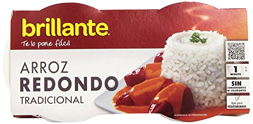 Brillante Arroz Redondo 125G X 2 - [Pack De 8] - Total 2 Kg