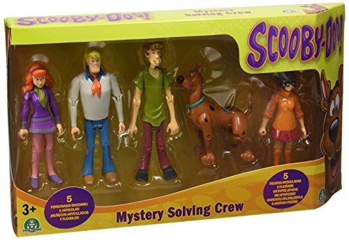 Giochi Preziosi - Set 5 Personaggi Scooby Doo, Alti 10 cm