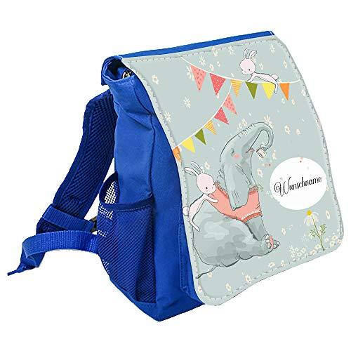 wolga-kreativ Kleiner Rucksack Kindergartentasche Mädchen Jungen Fuchs Kinderrucksack Kindergartenrucksack Jungs Kinder mit Namen Tagesrucksack Kindergarten KindertascheRucksack für Kinder 6 L