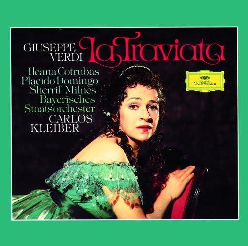 Plácido Domingo, Ileana Cotrubas, Sherrill Milnes, Bavarian State Orchestra, Carlos Kleiber & Giuseppe Verdi