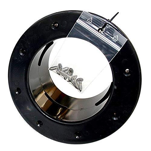 Adrenalin-Fishing Folieflansch 50mm Tankdurchführung DN50 für PVC KG & HT Rohrleitung Tankverbindung mit Gegenflansch