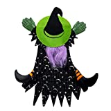 """Halloween Haunters Hanging 15"""" Tree Window Crasher Witch Prop Decoration - Funny Eye-Catching Flying Crashing Wrong Way Wicked Witch, Attach to Tree, Door, Porch, Entryway - Haunted House Display"""