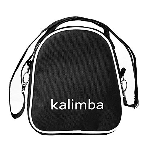 Kalimba, Daumenklavier 17 Tasten aus Holz Kalimba Daumenklavier Kalimba Pine Musikinstrument for Anfänger mit Tasche (Color : Bag)