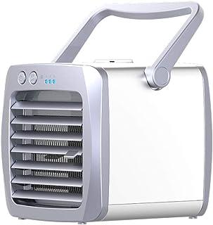 SYMX Mini Aire Acondicionado Mini Ventilador Ventilador De Refrigeración Aire Acondicionado Refrigeración USB Portátil Móvil Personal Silencioso climatizador evaporativo Cube Air Cooler portatil Fast
