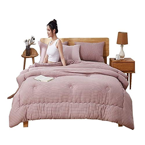 EIGHTT King Size Duvet Satin Jacquard 3-5 Tog Luxurious Feather Cotton Shell Anti-Dust Mite Feather-Proof Fabric Anti-Allergen Premium Luxurious Silky Quilt Bedding For Home Dormitory