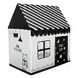 CSQ Kinderzelt, Schlafzimmer schwarz und weiß Spielzeug Zimmer innen und außen spielhaus lesen...