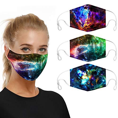SHUANGA Face Cover Multifunktionstuch Motorrad Winddicht Atmungsaktiv Mundschutz Halstuch Schön Atmungsaktiv Sommerschal Augenschutz mit 5 austauschbaren Filter