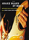 Jouez Blues et Rock Meth. Lead Guitar CD
