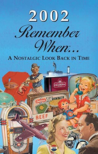 2002 REMEMBER WHEN CELEBRATION KARDLET: Birthdays, Anniversaries, Reunions, Homecomings, Client & Corporate Gifts
