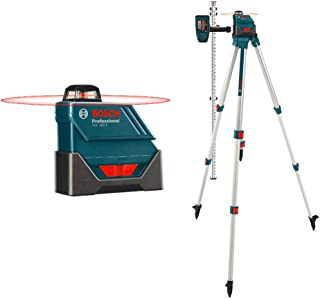 Bosch GLL150ECK-RT Self-Leveling 360-Degree Exterior Laser with LD3 Detector (Renewed)