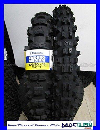 Paire Pneu Michelin enduro Medium 90/90 – 21 54R 120/90 – 18 65R Dot 2017