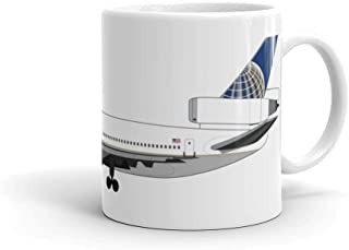 Continental Airlines McDonnell Douglas DC-10 Mug