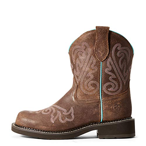 Product Image 3: ARIAT Women's Collection Cowboy Fatbaby Leather Western Boots, Heavenly Brushed Brown, 5.5