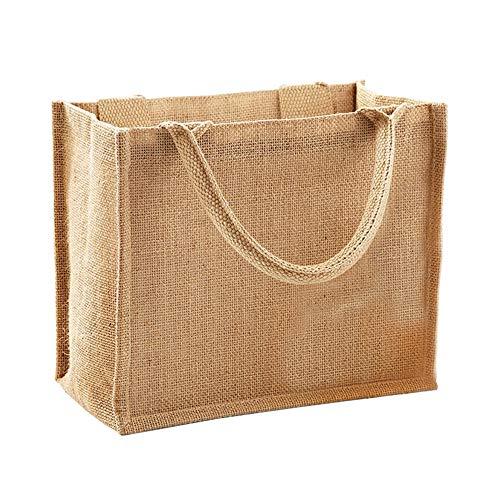 Westford Mill Mini-Jute-Geschenktüte (6Liter), beige (Beige) - UTBC2791_1