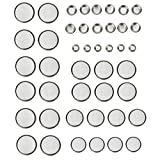Performance Tool W483 44Pc Button Cell Battery Pack, 1 Pack