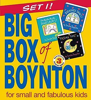 Big Box of Boynton Set 1!  Barnyard Dance! Pajama Time! Oh My Oh My Oh Dinosaurs!  Boynton on Board