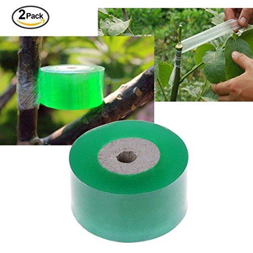 2 pcs ruban à greffer Moisture Barrier Plante réparation outils de Greffe de jardin, jardin Arbre semis biodégradable, 300 cm