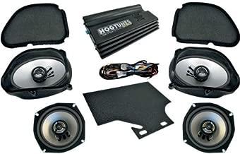 Hogtunes Big RG Ultra Amp and Speaker Kit for 1998-2013 Harley-Davidson Road Glide Models