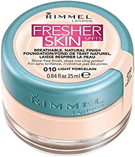 Rimmel Fresher Skin SPF15 010 Light Porcelain