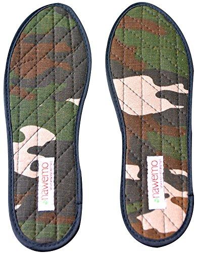 Nawemo Zimtsohlen Camouflage, Größe 39