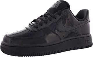 NIKE Women's Air Force 1 '07 Basketball Shoe (Black/Black, 10 M US)