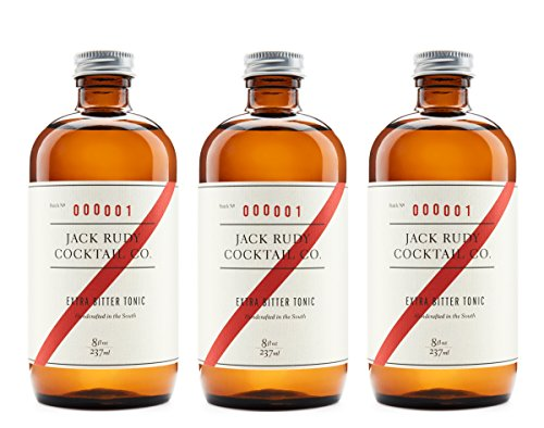 Jack Rudy Cocktail Extra Bitter Tonic (3 Pack)