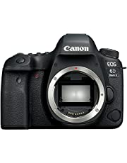 Canon EOS 6D Mark II BODY Fotoğraf Makinesi, Full HD (1080p), Siyah, 2 Yıl Canon Eurasia Garantili