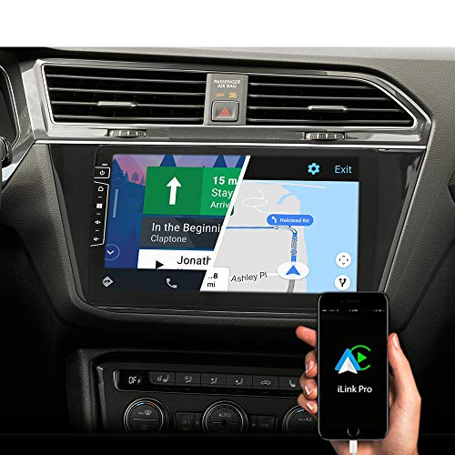 DYNAVIN Autoradio Navi für VW Tiguan ab 2016, 10,1 Zoll OEM Radio mit Bluetooth, DAB+ Ready, USB, Kompatibel mit Carplay und Android Auto: DX-V-82 Flex