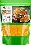 Bliss of Earth 250GM High Curcumin Certified Organic Lakadong Turmeric Powder