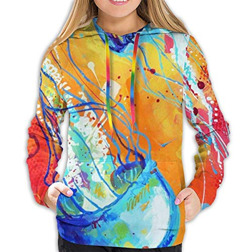 FlyGG Casual Pullover Hoodie Hooded Sweatshirt trainingspakken voor Vrouwen Meisjes Dames