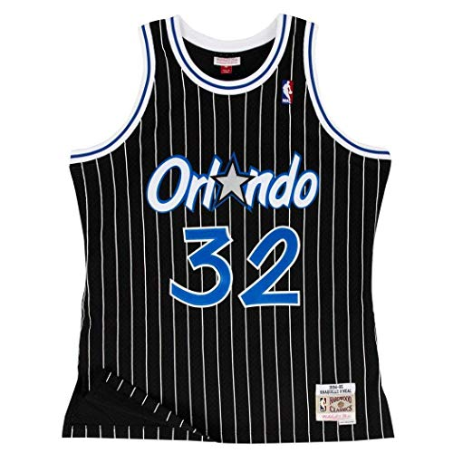 Shaquille O'Neal Orlando Magic Mitchell & Ness Swingman Jersey Black (X-Large)