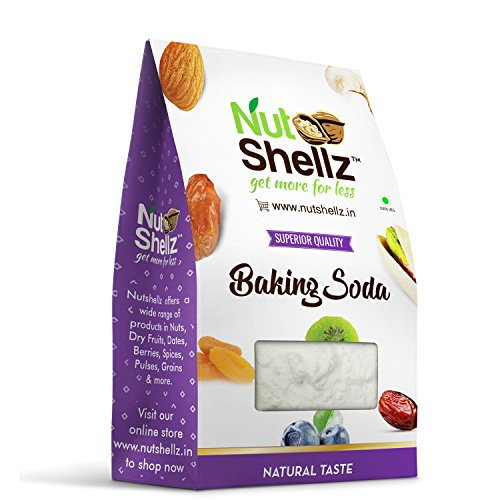 Nutshellz Baking soda, 1 kg - for cooking / soft bakery / cleaning