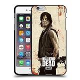 Head Case Designs Licenciado Oficialmente AMC The Walking Dead Daryl Angustiado Ilustraciones Funda de Gel Negro Compatible con Apple iPhone 6 Plus/iPhone 6s Plus