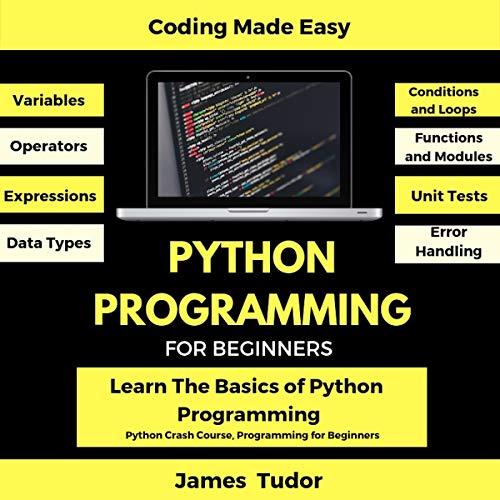 Python Programming for Beginners: Learn the Basics of Python Programming Audiobook By James Tudor cover art