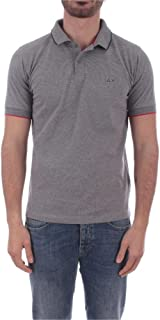 SUN 68 Luxury Fashion Mens A3010634 Grey Polo Shirt |