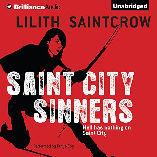 Saint City Sinners audiobook cover art