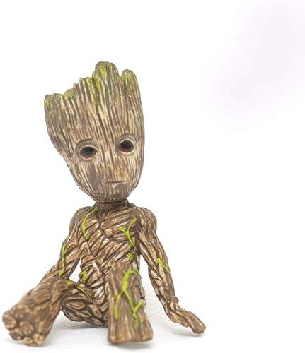 JXJJD Jouet Statue Avengers Jouet Modèle Film Personnage Cadeaux Objets de Collection Galaxy Guard Tree Man Groot (Couleur   A)