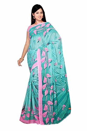 Bollywood Sari Kleid Chiffon Fo434