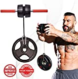 DMoose Fitness Wrist Exerciser, Forearm Blaster, and Strength Trainer, Hand Grip Foam Roller