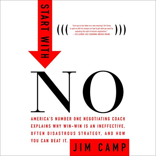 Start with No Audiobook By Jim Camp cover art